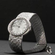 Relojes - Omega: RELOJ OMEGA DE MUJER EN ORO BLANCO Y DIAMANTES . Lote 153806122