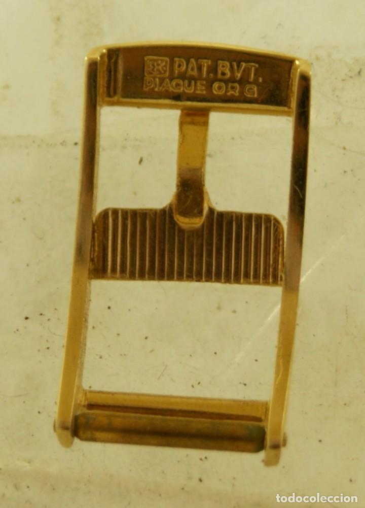 Relojes - Omega: HEBILLA ORIGINAL OMEGA CHAPADA EN ORO - Foto 4 - 159405596