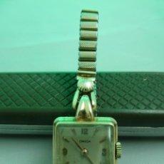 Relojes - Omega: RELOJ OMEGA DE ORO 18K DE SEÑORA A CUERDA FUNCIONANDO 17 JEWELS. Lote 155702994