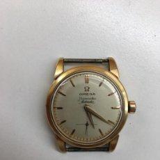 Relojes - Omega: INUSUAL RELOJ OMEGA SEAMASTER AUTOMÁTICO DE ORO 18 K 750 EN ESTADO DE MARCHA. Lote 156508226