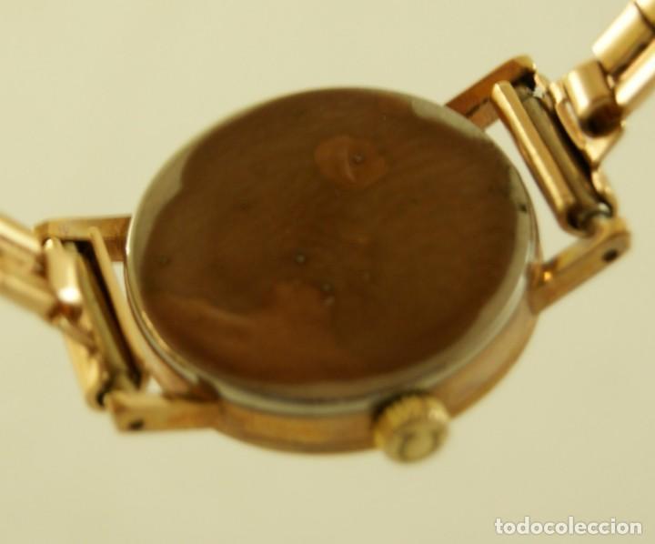 Relojes - Omega: PRECIOSO OMEGA MECANICO DE COCKTAILDE DAMA CHAPADO EN ORO FUNCIONANDO - Foto 8 - 159089094