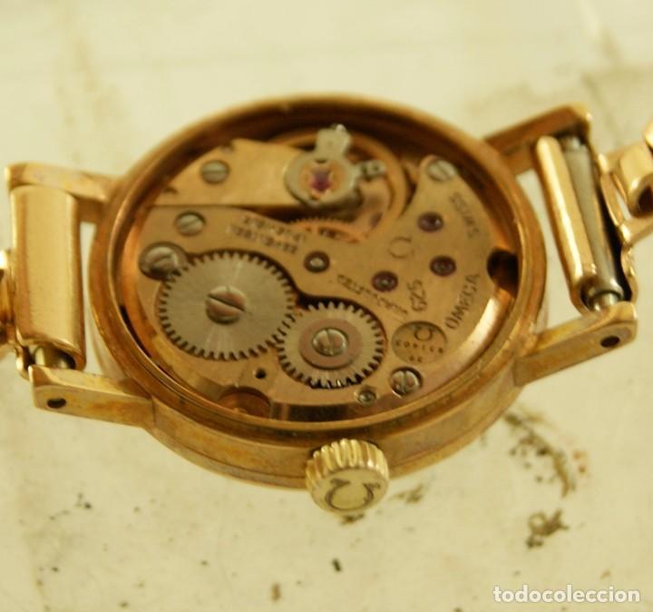 Relojes - Omega: PRECIOSO OMEGA MECANICO DE COCKTAILDE DAMA CHAPADO EN ORO FUNCIONANDO - Foto 11 - 159089094