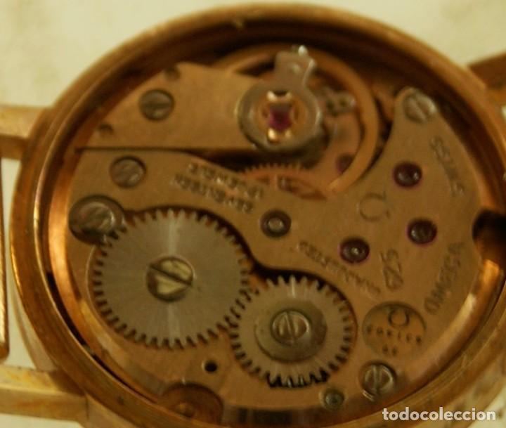 Relojes - Omega: PRECIOSO OMEGA MECANICO DE COCKTAILDE DAMA CHAPADO EN ORO FUNCIONANDO - Foto 12 - 159089094