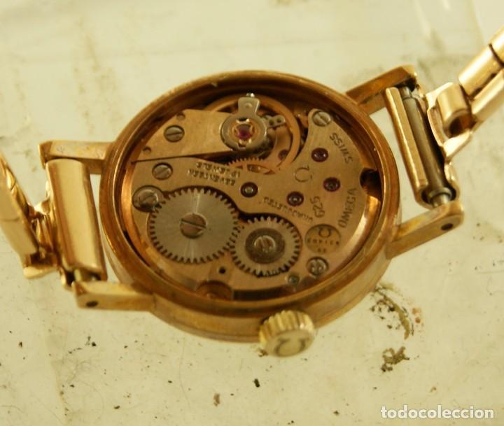 Relojes - Omega: PRECIOSO OMEGA MECANICO DE COCKTAILDE DAMA CHAPADO EN ORO FUNCIONANDO - Foto 13 - 159089094