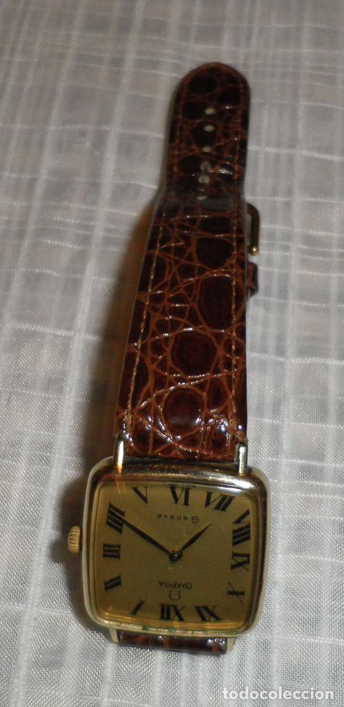 Relojes - Omega: reloj omega chapado en oro deville de señora carga manual años 60 correa de piel - Foto 2 - 159584510