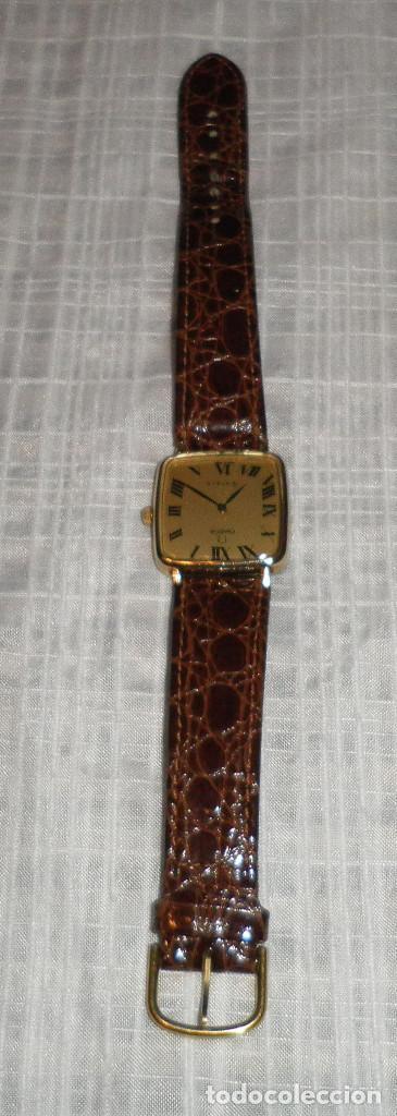 Relojes - Omega: reloj omega chapado en oro deville de señora carga manual años 60 correa de piel - Foto 3 - 159584510