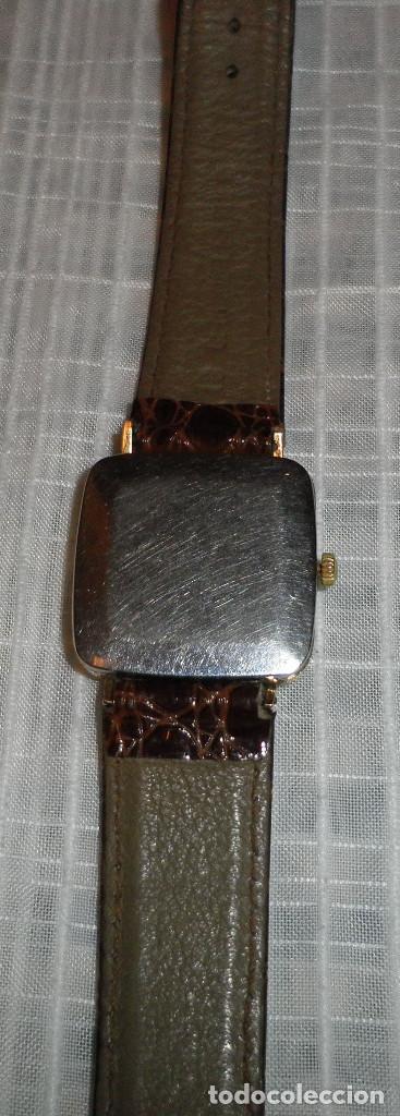 Relojes - Omega: reloj omega chapado en oro deville de señora carga manual años 60 correa de piel - Foto 5 - 159584510