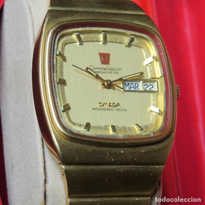 Relojes - Omega: OMEGA CONSTELLATION CHRONOMETER MEGASONIC 720 HZ ORO 18 - Foto 3 - 153731762