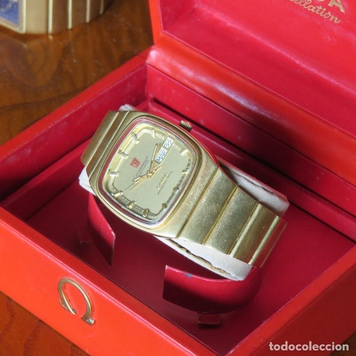 Relojes - Omega: OMEGA CONSTELLATION CHRONOMETER MEGASONIC 720 HZ ORO 18 - Foto 4 - 153731762