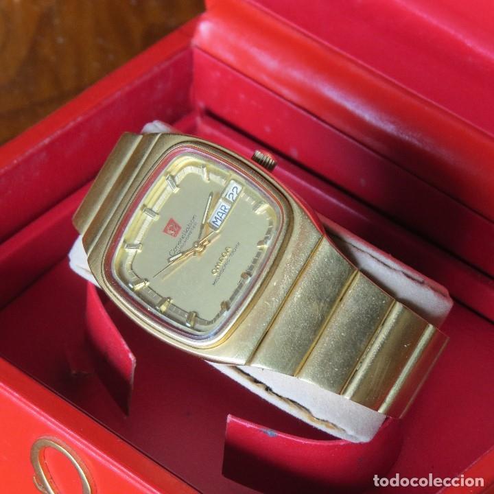 Relojes - Omega: OMEGA CONSTELLATION CHRONOMETER MEGASONIC 720 HZ ORO 18 - Foto 5 - 153731762