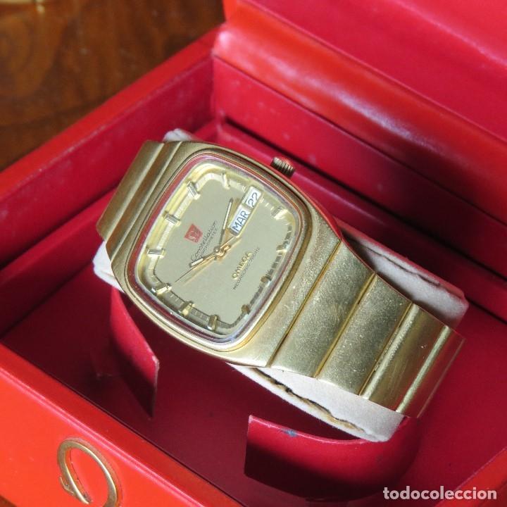 Relojes - Omega: OMEGA CONSTELLATION CHRONOMETER MEGASONIC 720 HZ ORO 18 - Foto 6 - 153731762