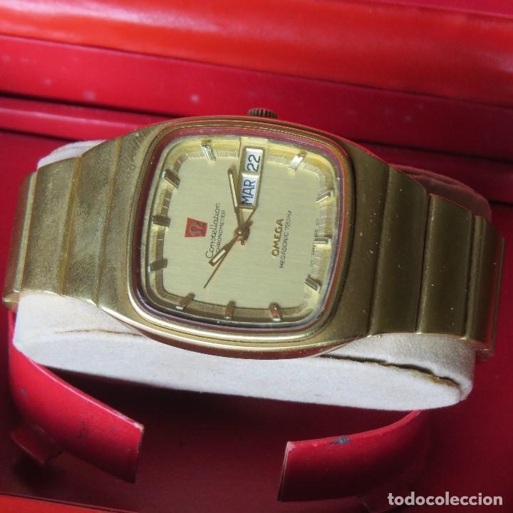 Relojes - Omega: OMEGA CONSTELLATION CHRONOMETER MEGASONIC 720 HZ ORO 18 - Foto 11 - 153731762