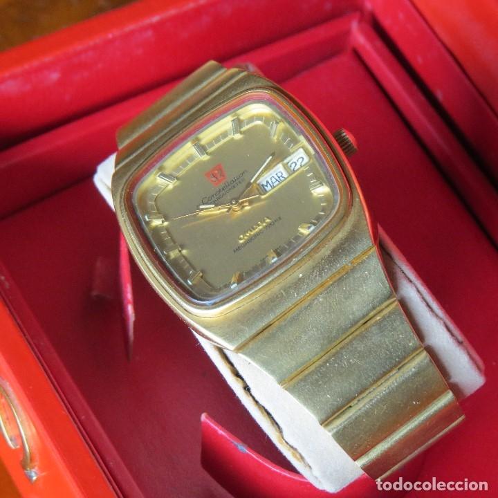 Relojes - Omega: OMEGA CONSTELLATION CHRONOMETER MEGASONIC 720 HZ ORO 18 - Foto 10 - 153731762
