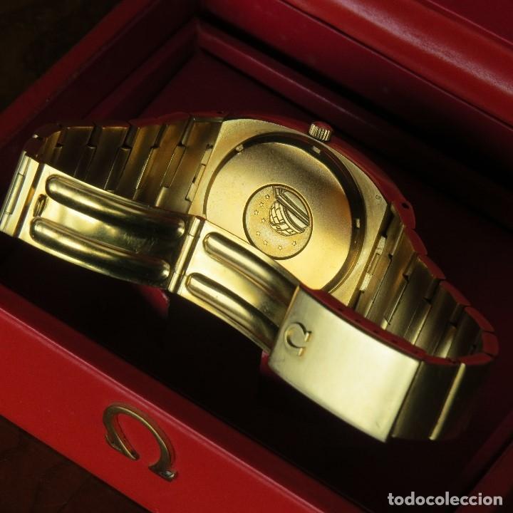 Relojes - Omega: OMEGA CONSTELLATION CHRONOMETER MEGASONIC 720 HZ ORO 18 - Foto 20 - 153731762