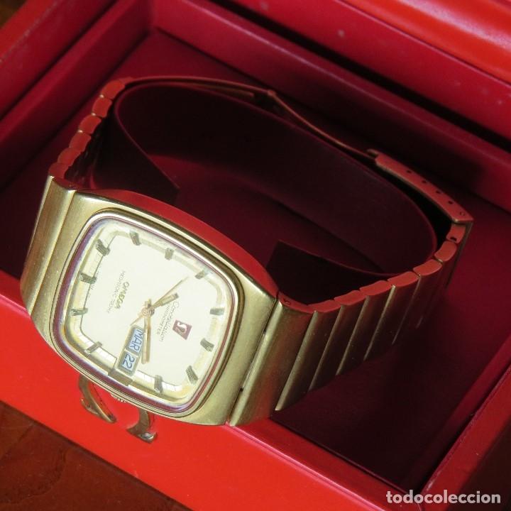 Relojes - Omega: OMEGA CONSTELLATION CHRONOMETER MEGASONIC 720 HZ ORO 18 - Foto 21 - 153731762