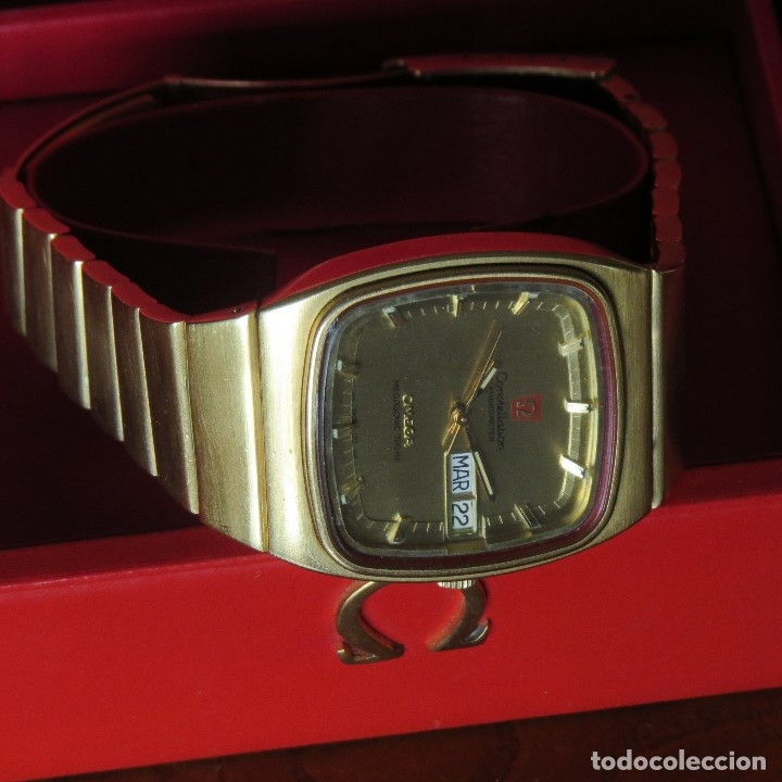 Relojes - Omega: OMEGA CONSTELLATION CHRONOMETER MEGASONIC 720 HZ ORO 18 - Foto 23 - 153731762