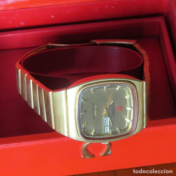 Relojes - Omega: OMEGA CONSTELLATION CHRONOMETER MEGASONIC 720 HZ ORO 18 - Foto 22 - 153731762