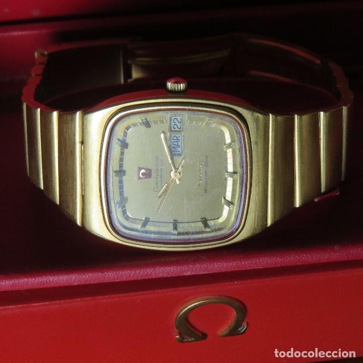 Relojes - Omega: OMEGA CONSTELLATION CHRONOMETER MEGASONIC 720 HZ ORO 18 - Foto 25 - 153731762