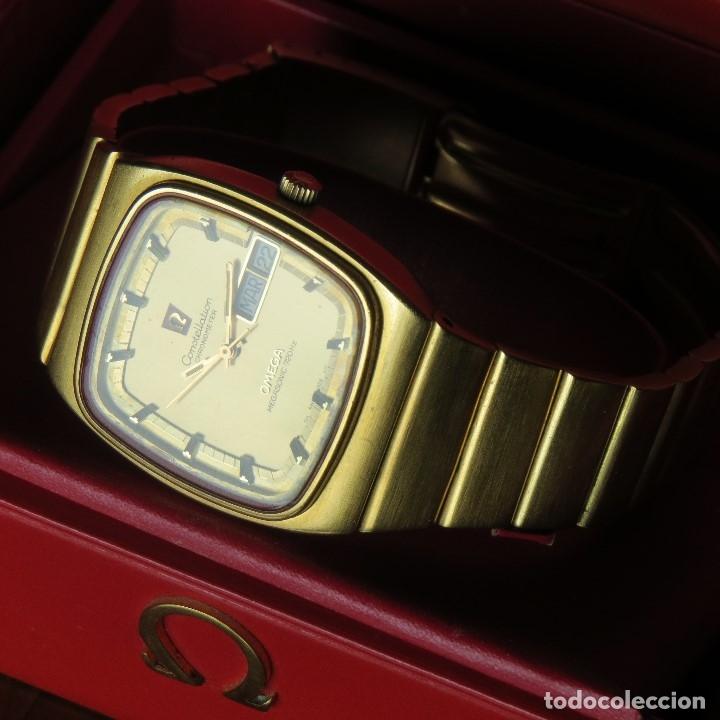 Relojes - Omega: OMEGA CONSTELLATION CHRONOMETER MEGASONIC 720 HZ ORO 18 - Foto 26 - 153731762