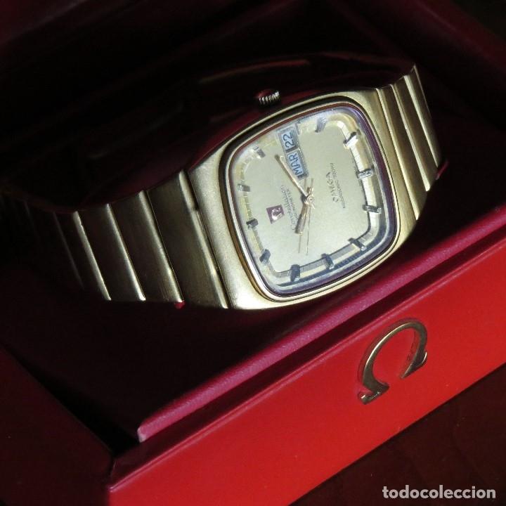 Relojes - Omega: OMEGA CONSTELLATION CHRONOMETER MEGASONIC 720 HZ ORO 18 - Foto 29 - 153731762