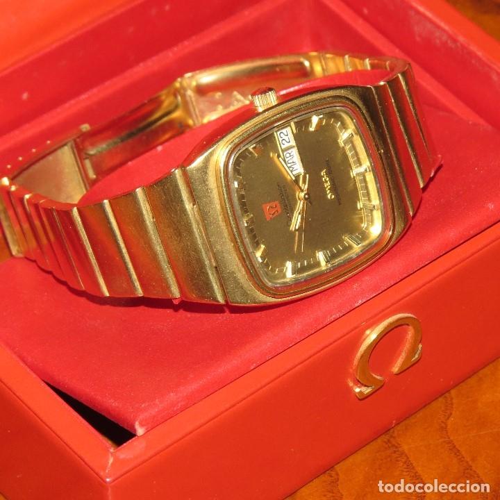 Relojes - Omega: OMEGA CONSTELLATION CHRONOMETER MEGASONIC 720 HZ ORO 18 - Foto 30 - 153731762