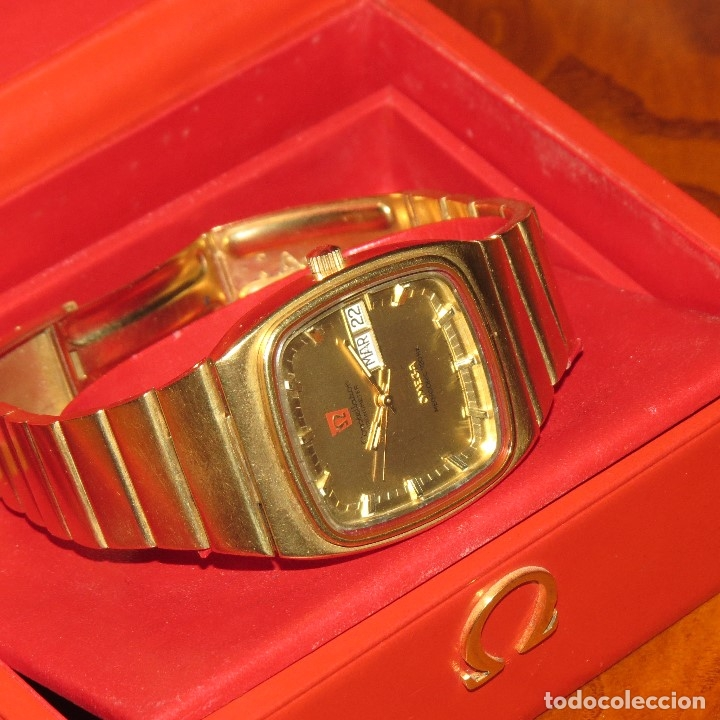 Relojes - Omega: OMEGA CONSTELLATION CHRONOMETER MEGASONIC 720 HZ ORO 18 - Foto 31 - 153731762