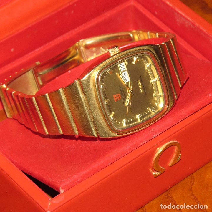 Relojes - Omega: OMEGA CONSTELLATION CHRONOMETER MEGASONIC 720 HZ ORO 18 - Foto 32 - 153731762