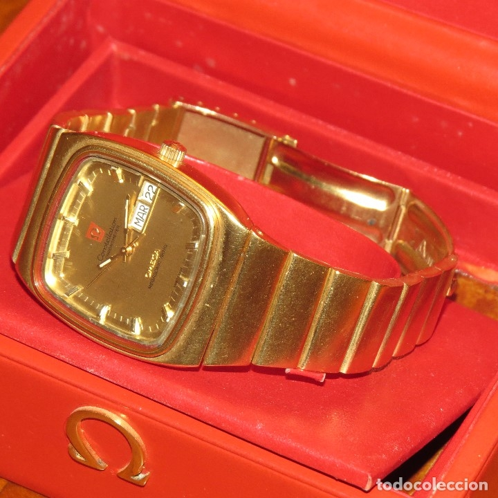 Relojes - Omega: OMEGA CONSTELLATION CHRONOMETER MEGASONIC 720 HZ ORO 18 - Foto 35 - 153731762