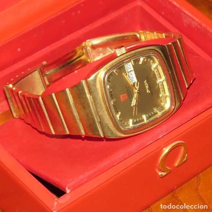 Relojes - Omega: OMEGA CONSTELLATION CHRONOMETER MEGASONIC 720 HZ ORO 18 - Foto 33 - 153731762