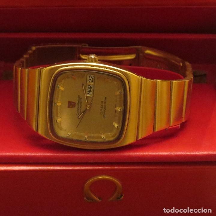 Relojes - Omega: OMEGA CONSTELLATION CHRONOMETER MEGASONIC 720 HZ ORO 18 - Foto 37 - 153731762