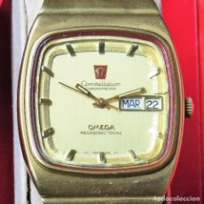 Relojes - Omega: OMEGA CONSTELLATION CHRONOMETER MEGASONIC 720 HZ ORO 18. Lote 153731762