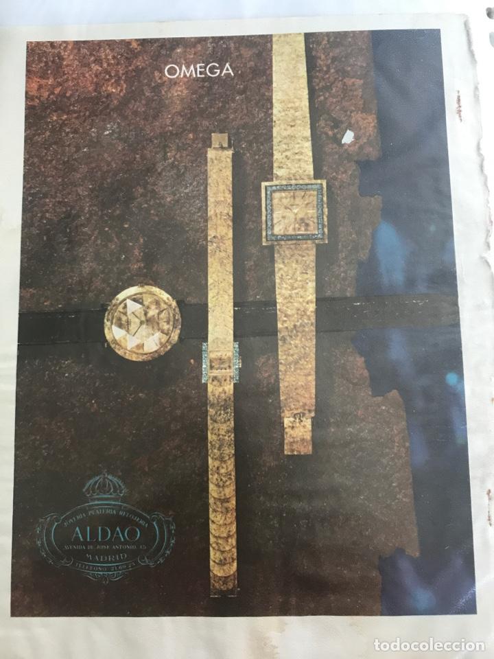 RECORTE DE PRENSA PUBLICITARIO ANTIGUO OMEGA. JOYERÍA ALDAO (Relojes - Relojes Actuales - Omega)