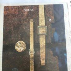 Relojes - Omega: RECORTE DE PRENSA PUBLICITARIO ANTIGUO OMEGA. JOYERÍA ALDAO. Lote 160833572