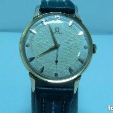 Relojes - Omega: RELOJ OMEGA CALIBRE 266 Y ESFERA DOBLE TONO ORO DE 750MM (18 KLTS).AÑO 1954. Lote 160938898