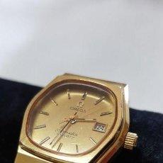 Relojes - Omega: SEAMASTER CHAPADO ORO 1360.. Lote 161116650