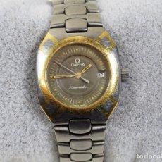 Relojes - Omega: OMEGA SEAMASTER TITANIO Y ORO SEÑORAS QUARTZ RELOJ DE PULSERA. Lote 166279708