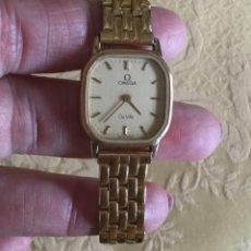 Relojes - Omega: RELOJ DE CUARZO OMEGA DE VILLE DE MUJER AÑOS 80 FUNCIONANDO. Lote 169674940