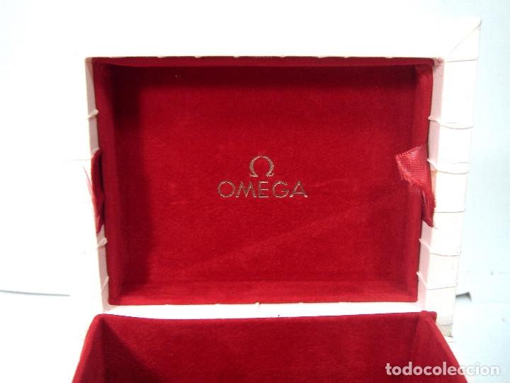 Relojes - Omega: ANTIGUO ESTUCHE LUJO - RELOJ OMEGA- CAJA FUNDA VINTAGE - Foto 6 - 169932624