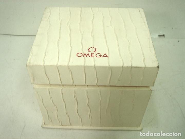 Relojes - Omega: ANTIGUO ESTUCHE LUJO - RELOJ OMEGA- CAJA FUNDA VINTAGE - Foto 3 - 169932624
