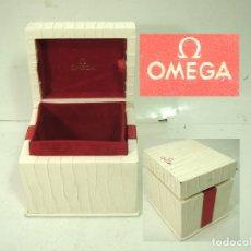 Orologi - Omega: ANTIGUO ESTUCHE LUJO - RELOJ OMEGA- CAJA FUNDA VINTAGE. Lote 169932624