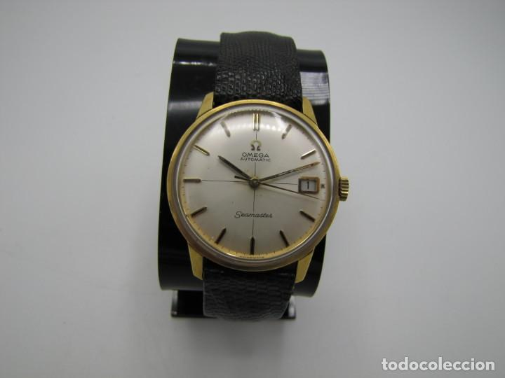 Relojes - Omega: Reloj Omega seamaster Automatico en oro 18k con calendario - Foto 2 - 172010054