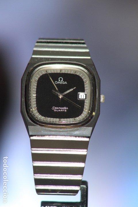 Relojes - Omega: Omega Seamaster Quartz Ceramic CERMET Perfecto. - Foto 13 - 172184623