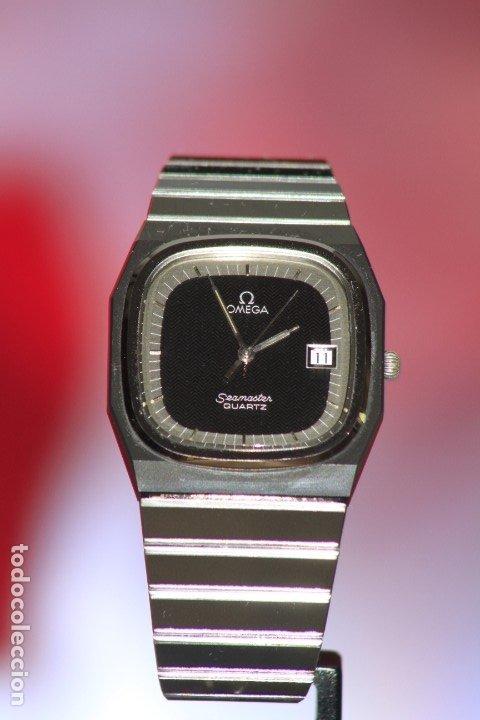 Relojes - Omega: Omega Seamaster Quartz Ceramic CERMET Perfecto. - Foto 8 - 172184623