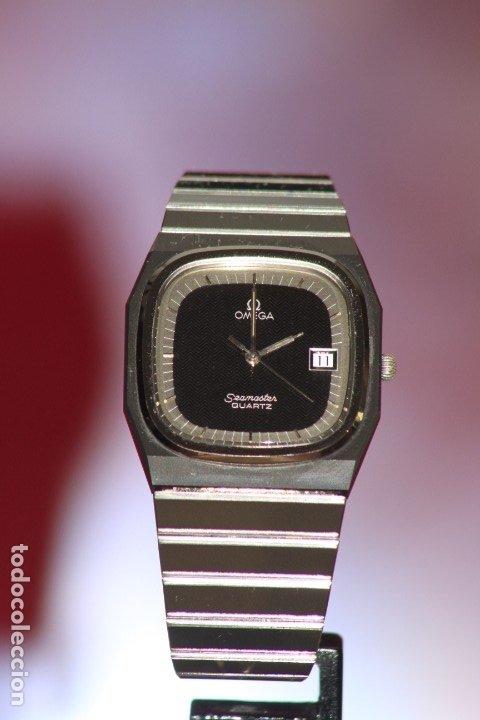 Relojes - Omega: Omega Seamaster Quartz Ceramic CERMET Perfecto. - Foto 5 - 172184623
