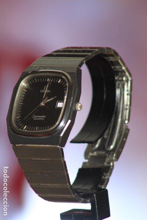 Relojes - Omega: Omega Seamaster Quartz Ceramic CERMET Perfecto. - Foto 6 - 172184623