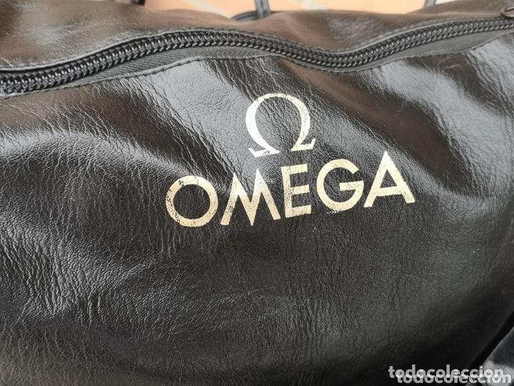 Relojes - Omega: ⭐E1/1 Bolso/Bolsa de viaje Relojes Omega Coleccionistas RAREZA - Foto 6 - 174073210