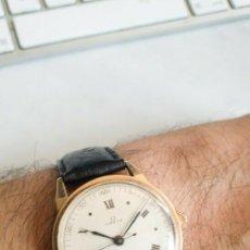 Relojes - Omega: PRECIOSO RELOJ DE PULSERA MARCA OMEGA CON CAJA DE ORO DE 18 K CON PUNZON, AÑOS 40, RECIEN REVISADO. Lote 175403769