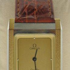 Relojes - Omega: RELOJ OMEGA CAJA DE ACERO Y ORO. UNISEX CASI NUEVO. Lote 176020593