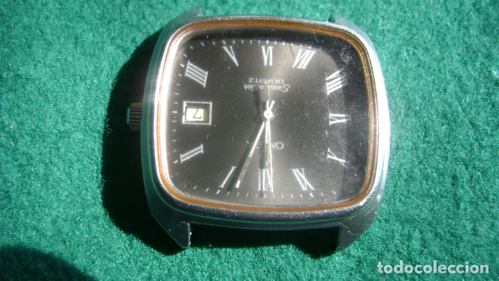 Relojes - Omega: OMEGA SEAMASTER CUATZO MOV 1342 FUNCIONANDO DIAL MUY RARO VER FOTOS - Foto 2 - 178653310
