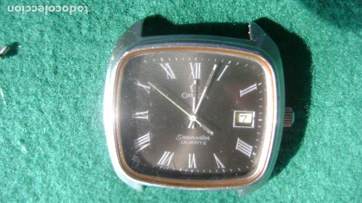 OMEGA SEAMASTER CUATZO MOV 1342 FUNCIONANDO DIAL MUY RARO VER FOTOS (Relojes - Relojes Actuales - Omega)
